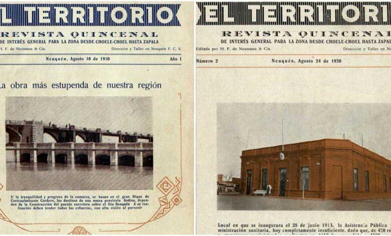 Revista el Territorio – década del '30