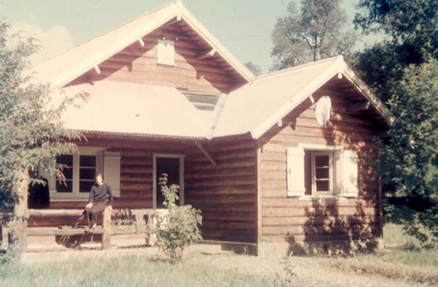 La vivienda que ocupó en Pucará. Foto de Amelia Arnelli.
