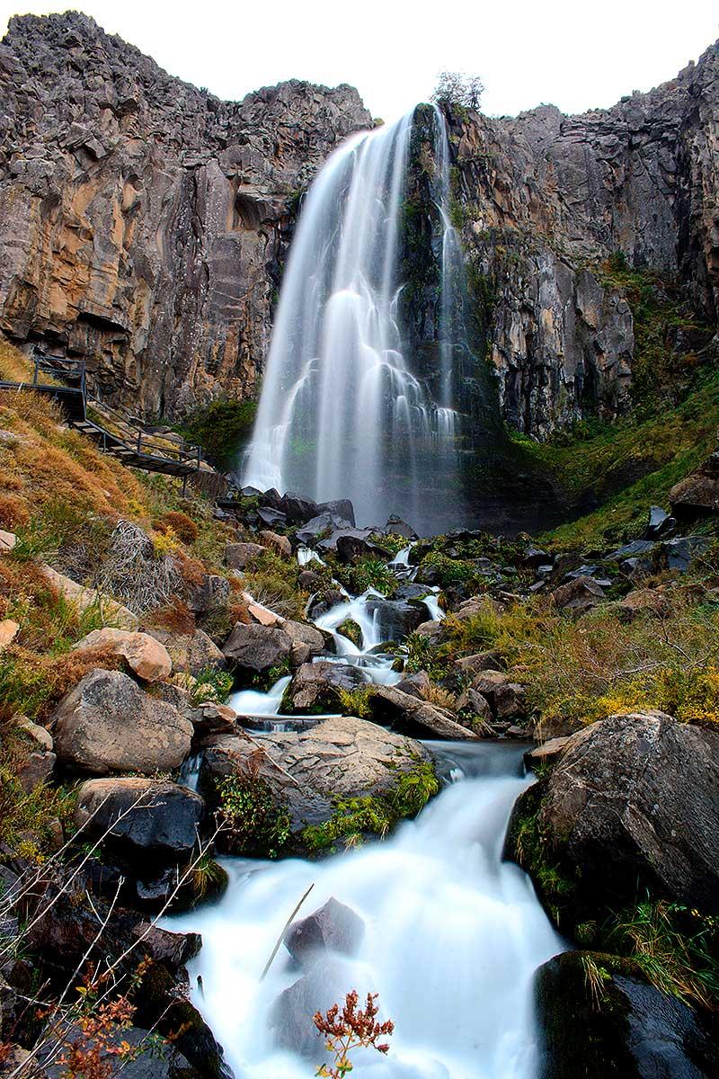 Cascada La Fragua - Efecto seda en el agua.