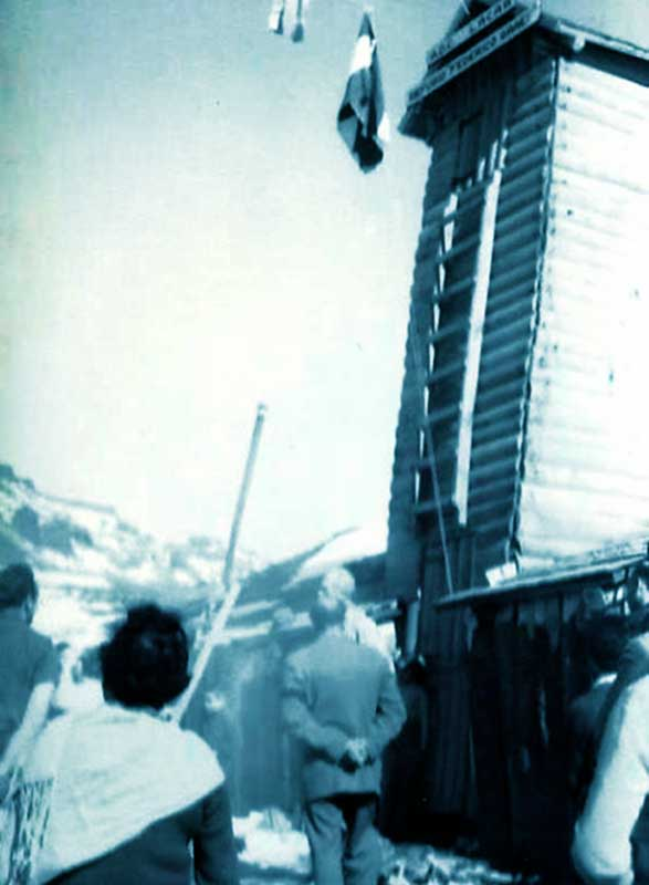 Inauguración del Refugio Graef.
