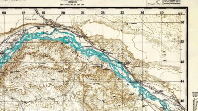 Plano topográfico – Añelo – 1943