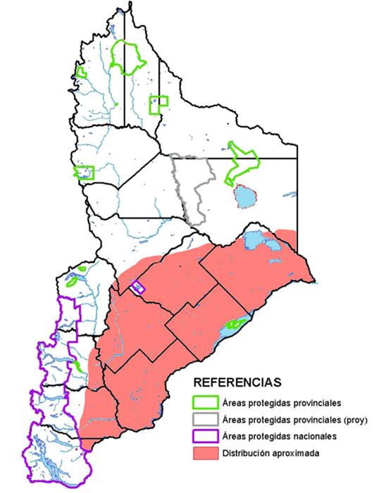 Distribución en Neuquén de la culebra patagónica