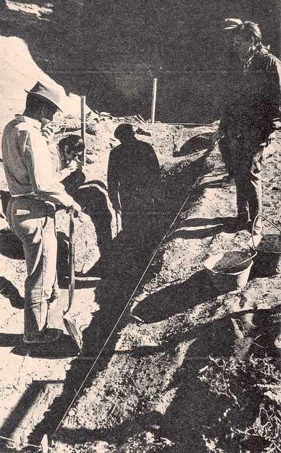 Rescate arqueológico en El Chocón