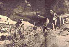 Rescate arqueológico en El Chocón - 1971