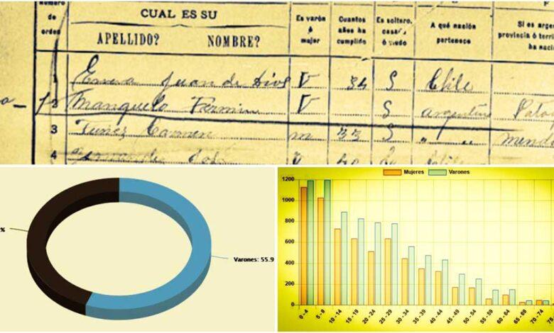 Censos del Neuquén antes de ser Provincia