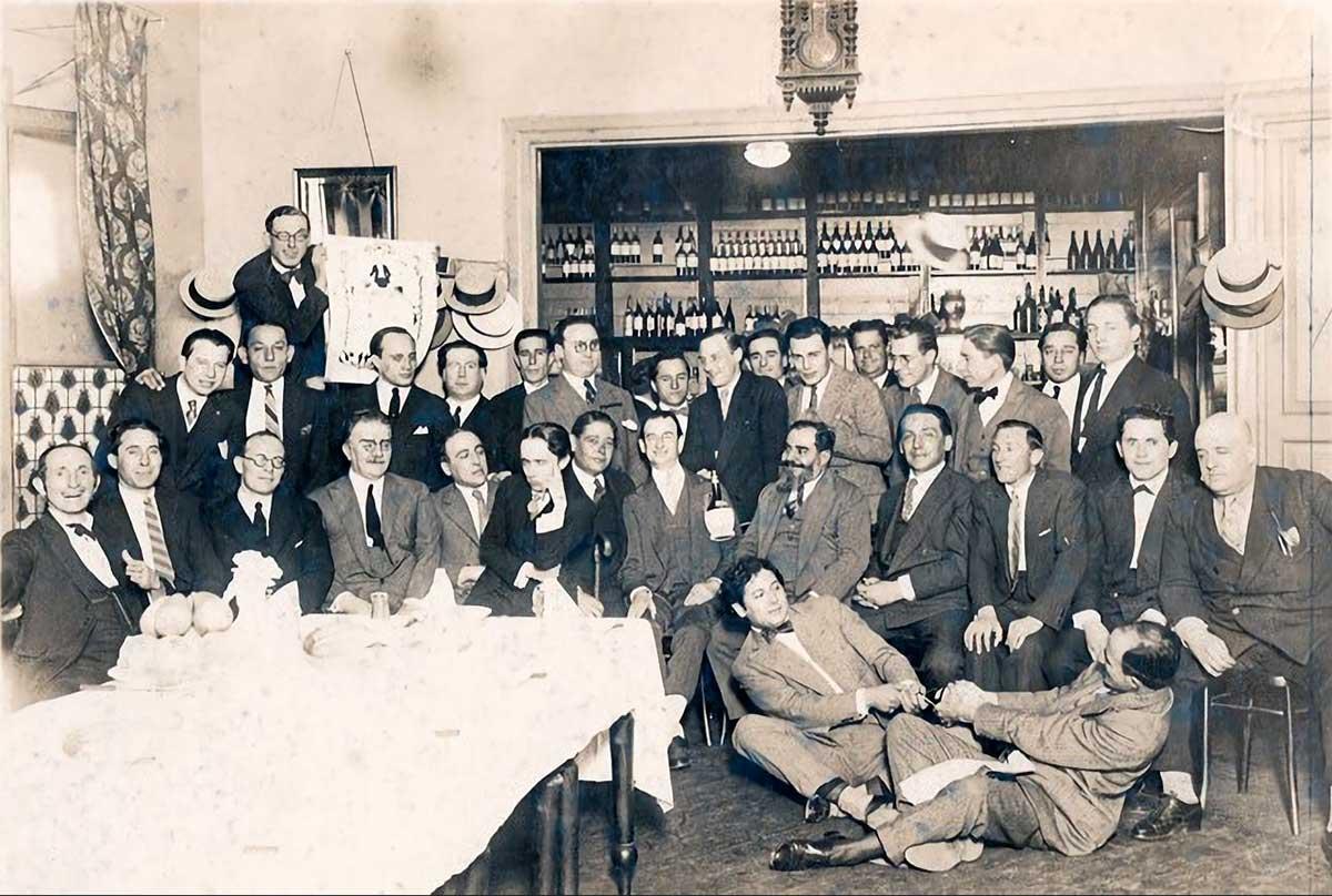 1926 en La Peña del Tortoni