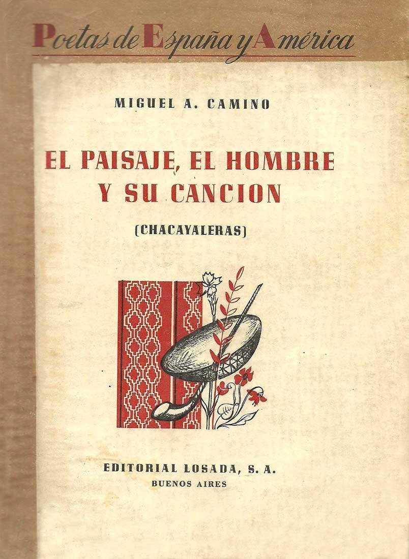Chacayaleras - Tapa del libro publicado por Editorial Losada