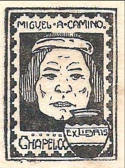Ex libris del Miguel Camino