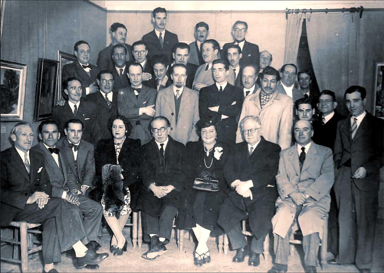 1943, exposición de Gente de Arte