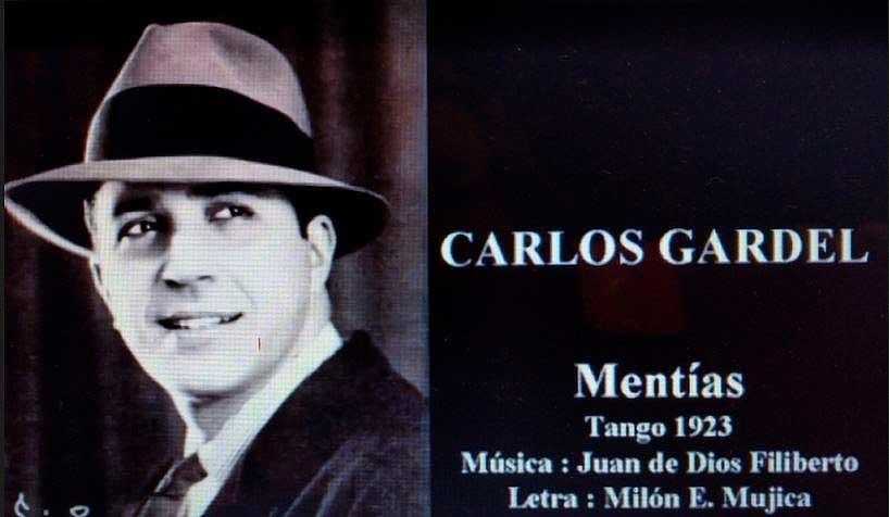 """""""Mentías"""" letra de Camino bajo el seudónimo de Milon E Mujica"""