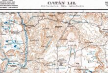 Plano topográfico - Catan Lil - 1936