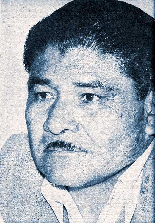 Abelardo Coifín, el primer diputado provincial mapuche.