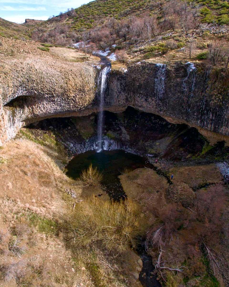 Cascada Tapaderas