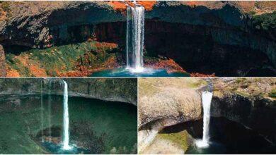 "Tres cascadas neuquinas ""iguales"" pero distintas"
