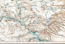 Plano topográfico – Chihuidos Sur – 1965/66